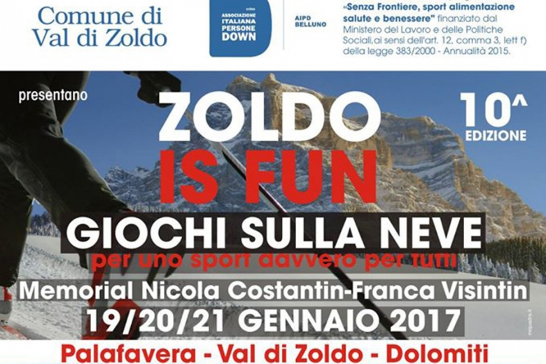 Zoldo is Fun 2017 - il Programma